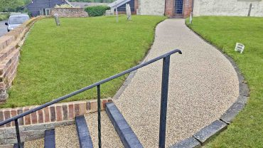 Resin Bound Pathways Paving