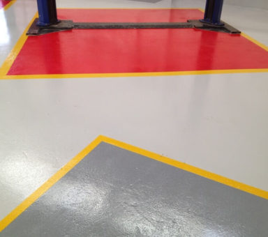 Anti Slip Epoxy Resin Coating