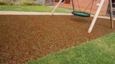 Resin Bound Rubber Mulch Safety Surfaces