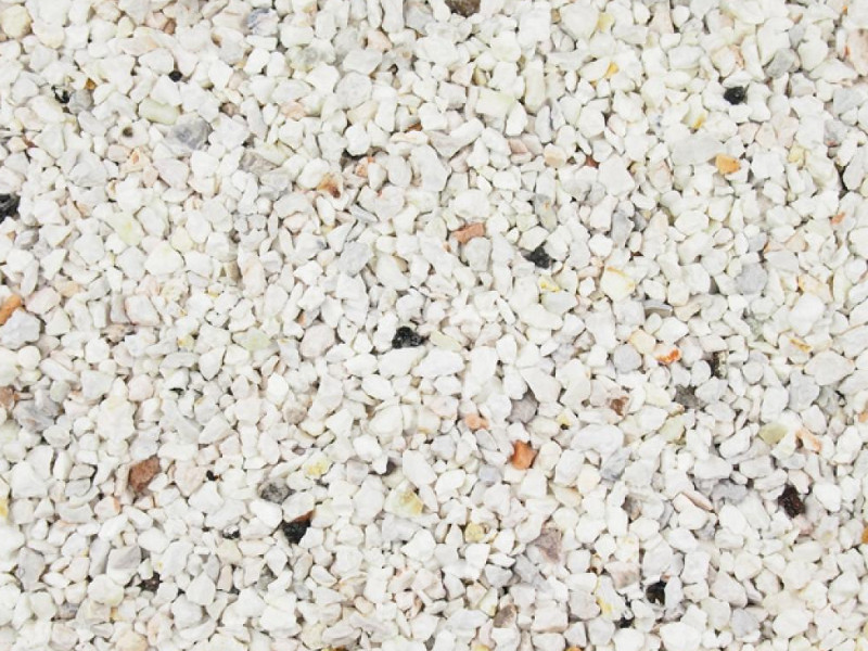 Artic-flint gravel for resin driveway
