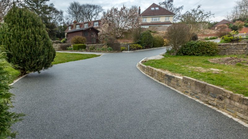 Resin Bound Stone Driveway