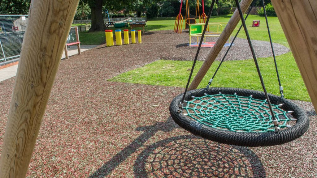 Rubber Mulch - Playground surface
