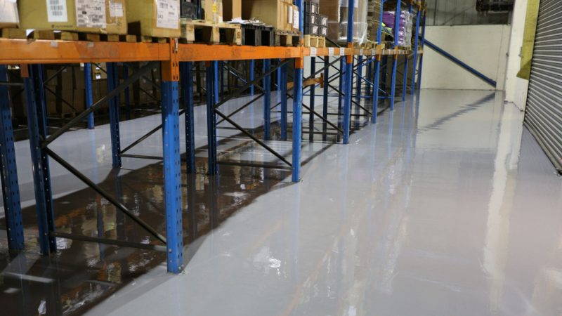Epoxy Resin Factory Floor