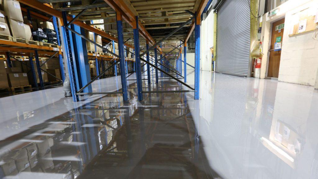 Epoxy coating – Factory floor