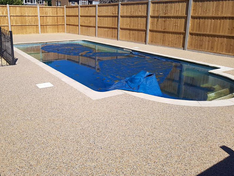 Resin Bound/bonded Stone Swimming Pool Surrounds - Advanced ...