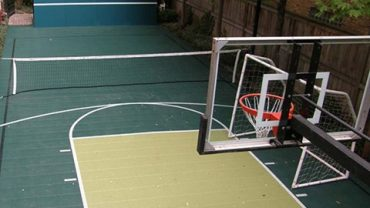 Sports court Line Marking – indoor and outdoor sport court applications