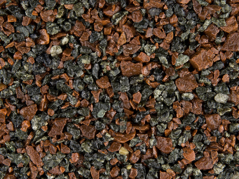 Midnight-Crimson gravel for resin driveway