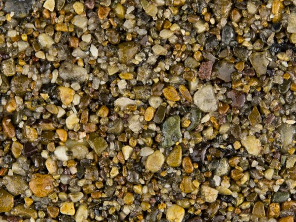 Natural-Tan gravel for resin driveway