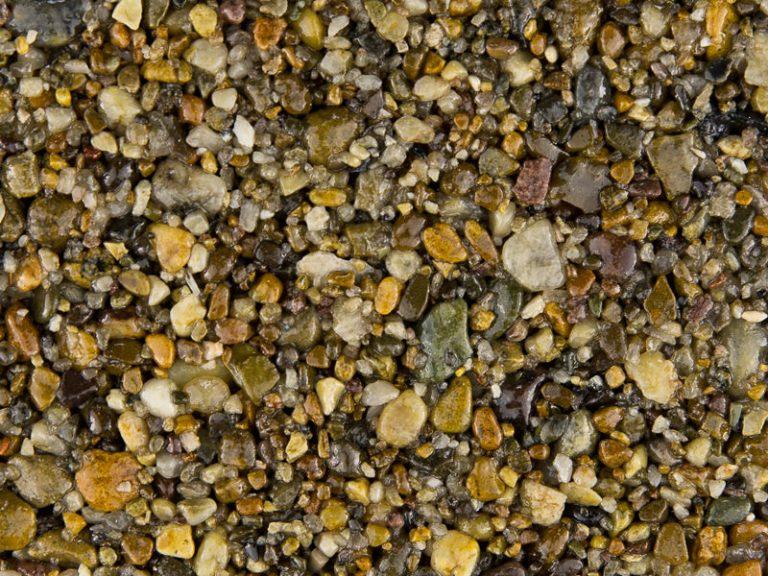 Natural-Tan gravel for resin driveway