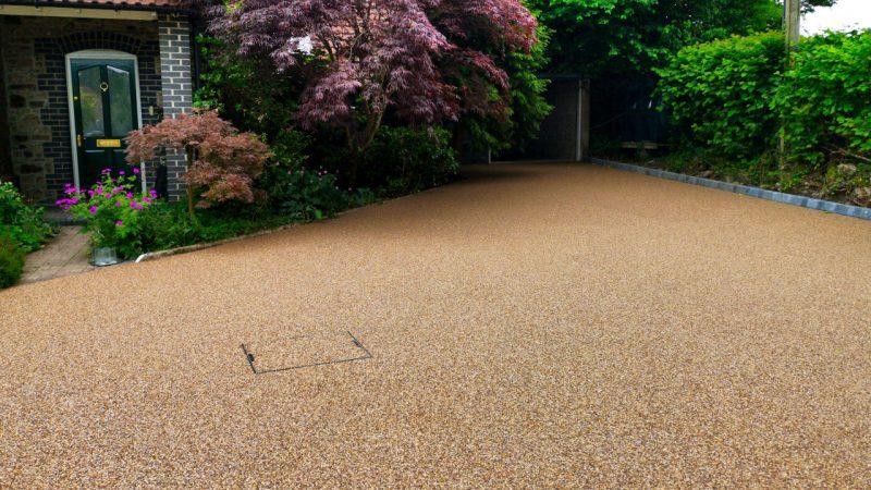 Resin Bound Stone Driveway in Bath Rose Grden gravel