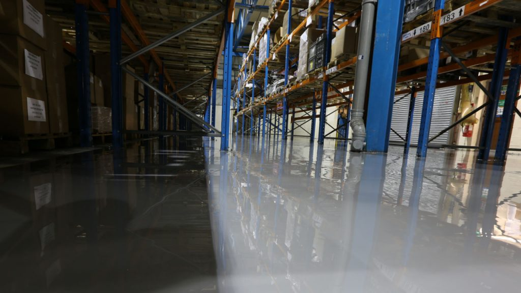 Epoxy coating – Factory floor