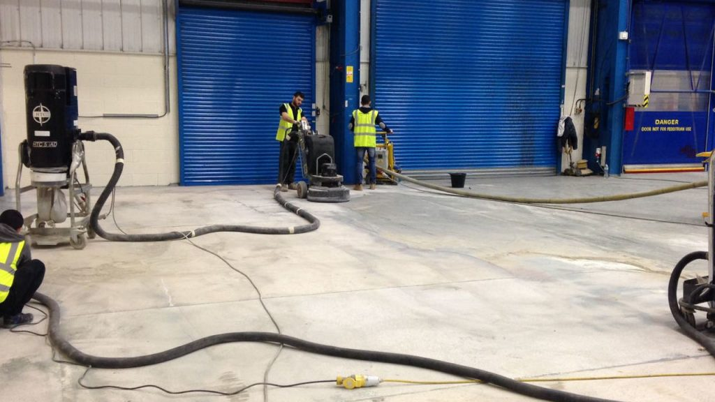 Epoxy Coatings Warehouse Workshop And Industrial