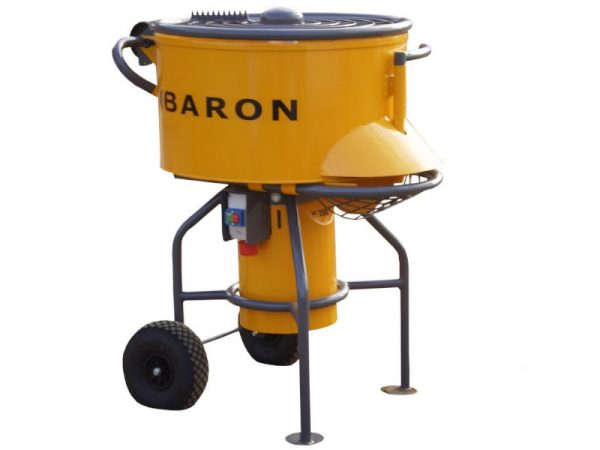 Resin driveway. Forced action mixer (200 litres)