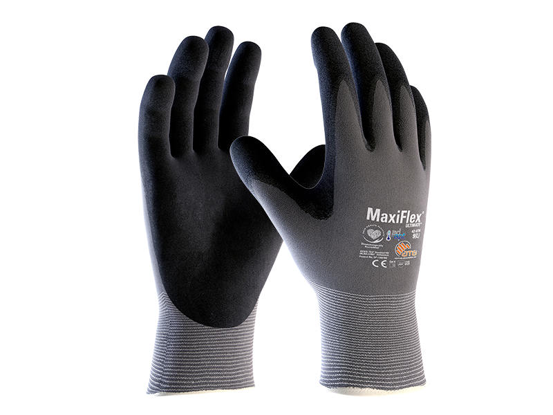 Mechanical work glove for precision handling in dry environments