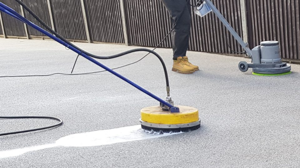 Resin driveway cleaning services